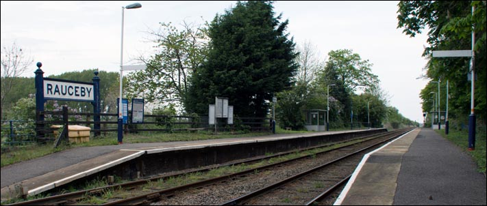 Rauceby railway station on the 5th of May 2014