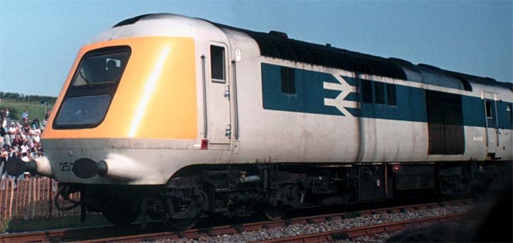 Prototype HST power car in 1975