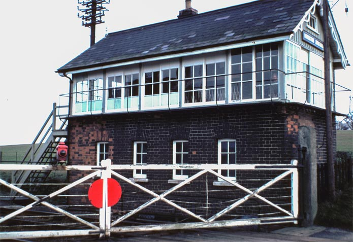 Honington Junction signal Box