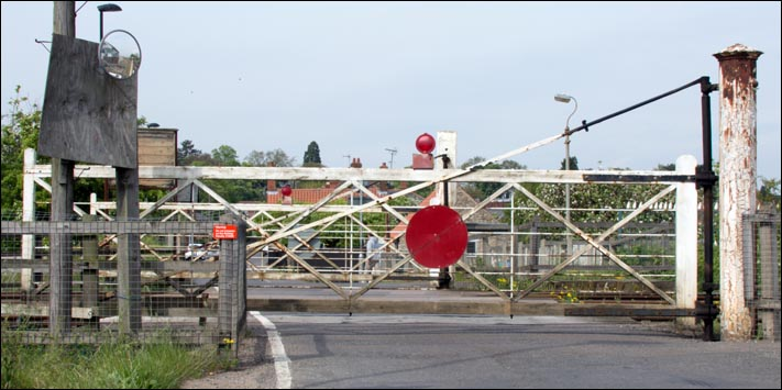 Level crossing at Sleaford West