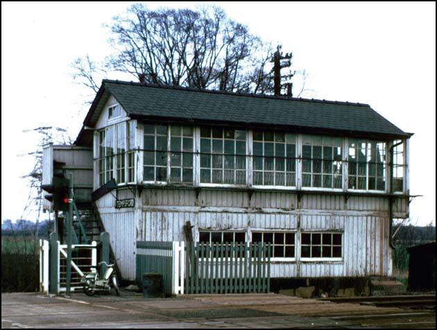 Temsford Signal Box