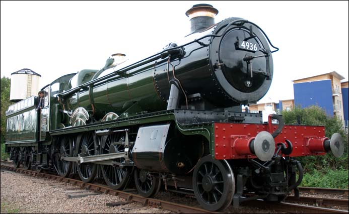 GWR Hall class at the NVR