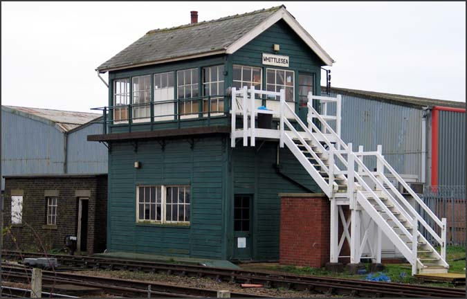 Whittlesea signal box in 2004
