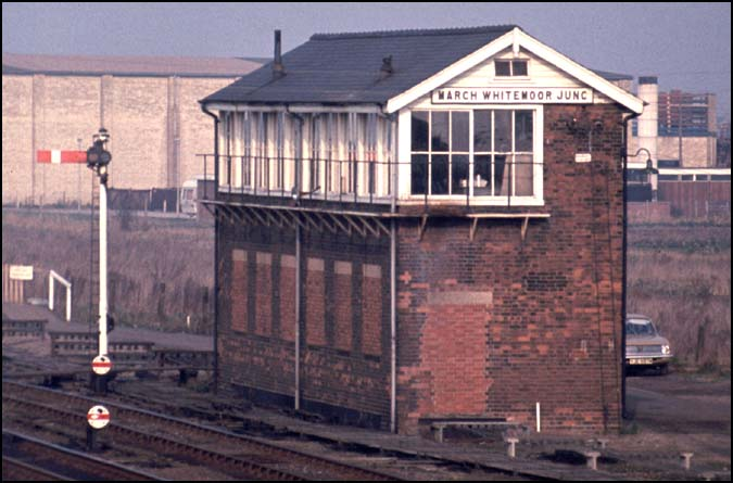 March Whitemoor Junction signal box