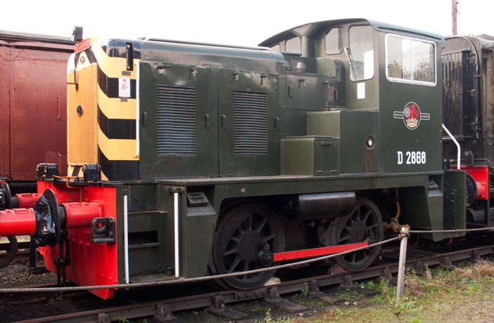Yorshire 0-4-0 D 2868