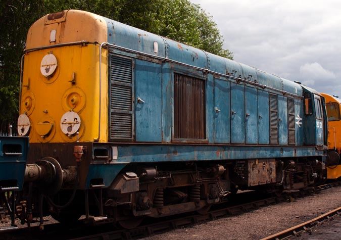 class 20121 at Barrow Hill