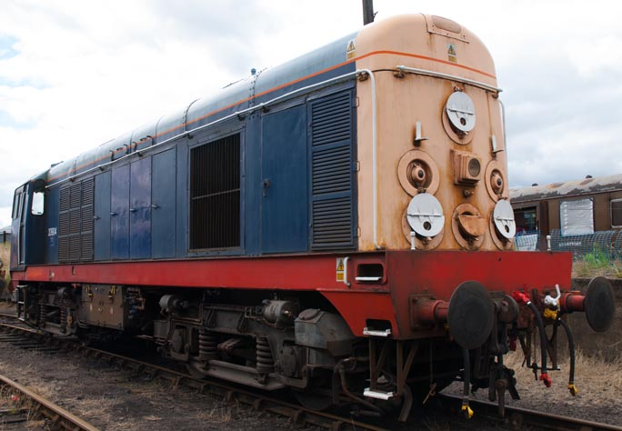 class 20904 at Barrow Hill