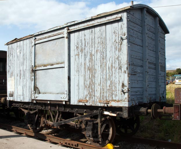 covered van at Barrow Hill in 2008