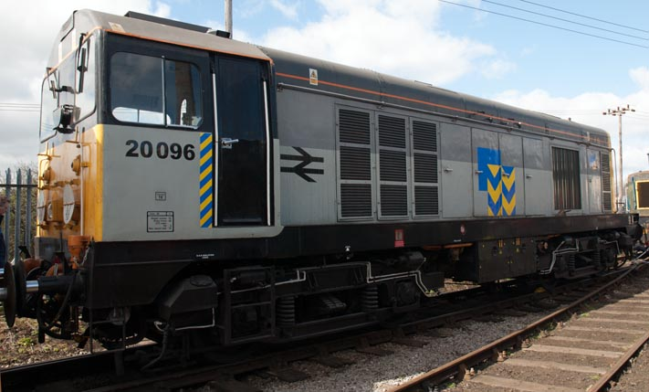Class 20 096 at Barrow Hill