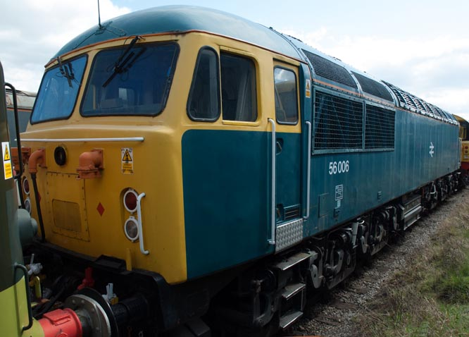Class 56006 at Barrow Hill