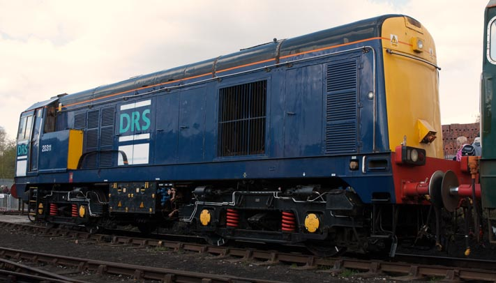 DRS class 2011 at Barrow Hill