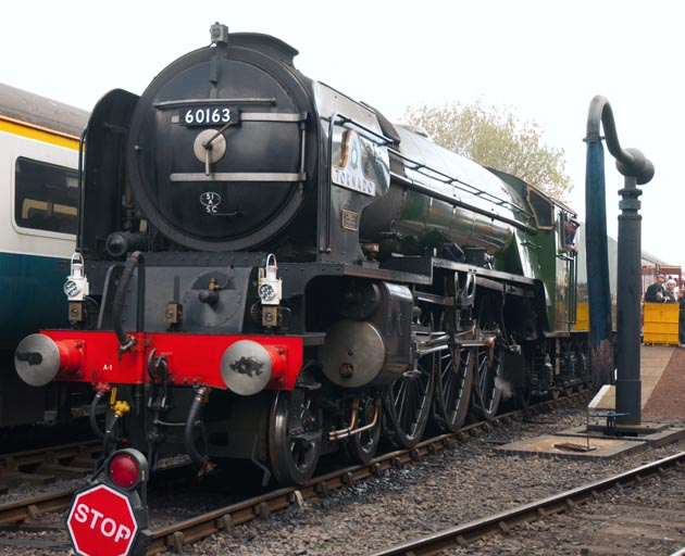 A1 60163 Tornado at Barrow Hill