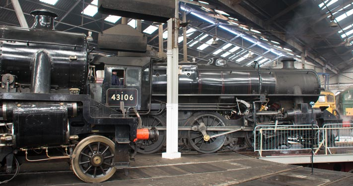 43106 in  Barrow Hill Roundhouse