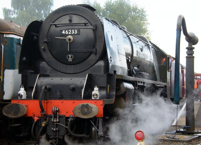 Duchess of Sutherland at Barrow Hill