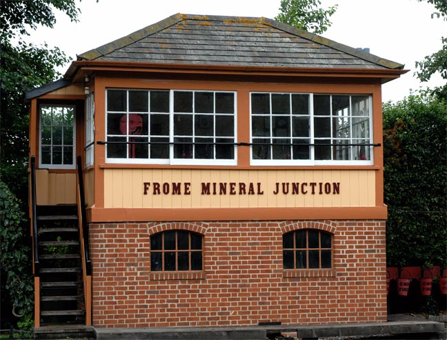 Frome Mineral Junction signal box