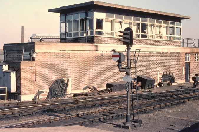 Doncaster North signal box