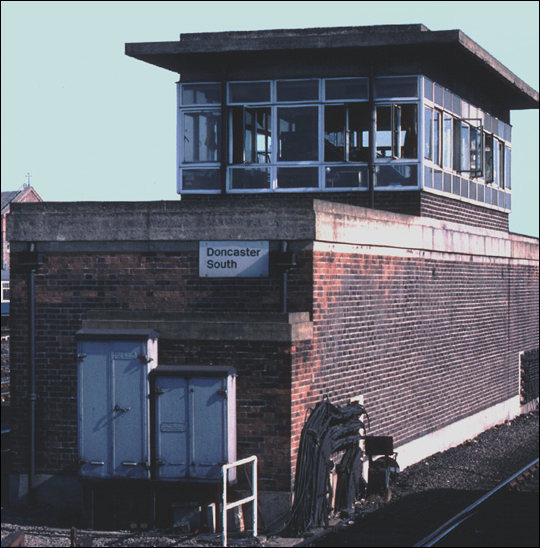 Doncaster south signal box