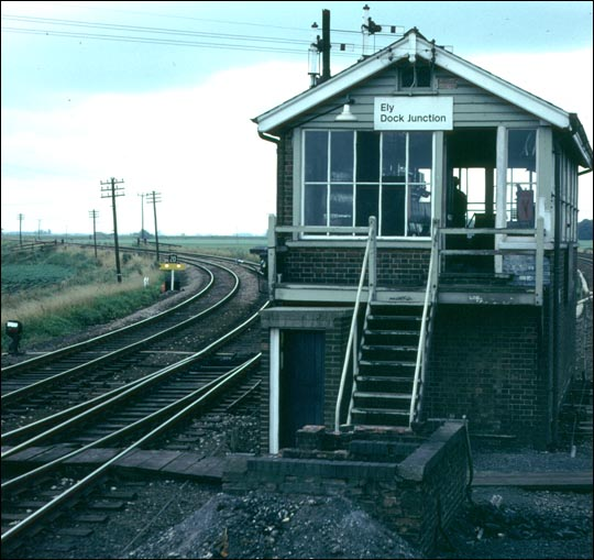 Ely Dock Junction signal box
