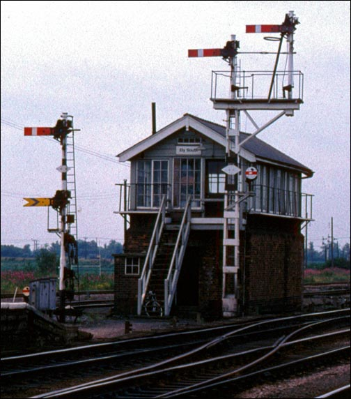 Ely South signal box