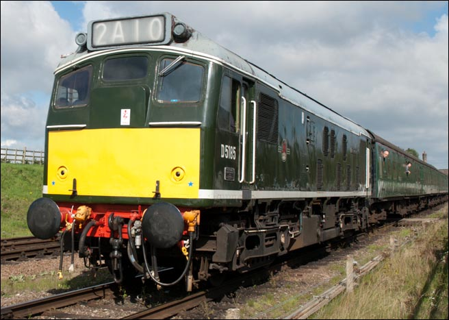 D5185 at the Great Central Railway on 12th September 2012.