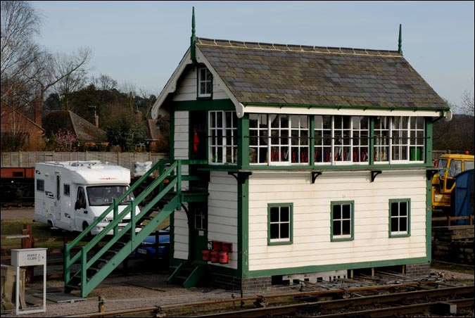 Quorn  and Woodhouse signal box