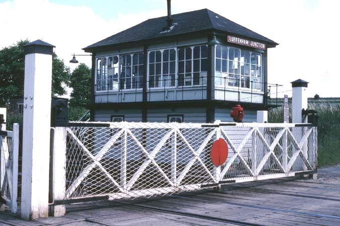 Luffenham Junction signal box