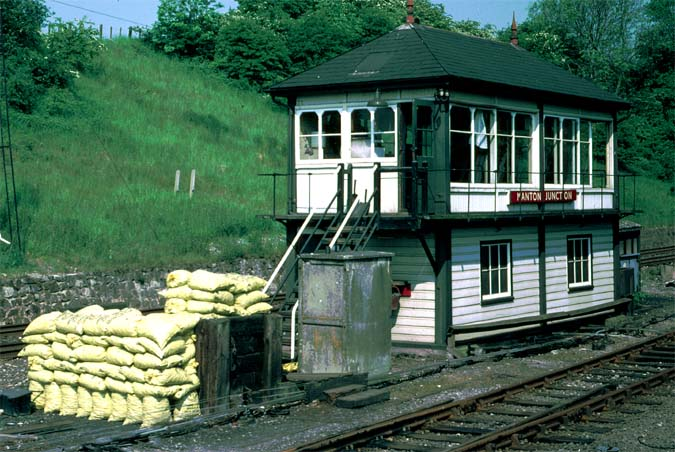 Manton Junction signal box.