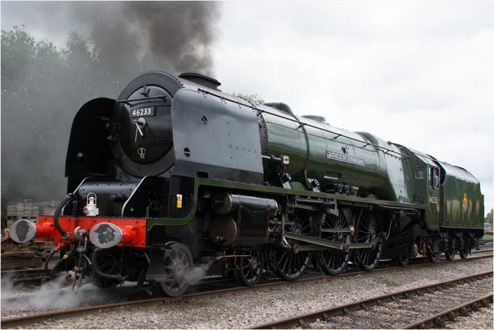 Duchess of Surtherland at the Mid-Norfolk Railway in 2015