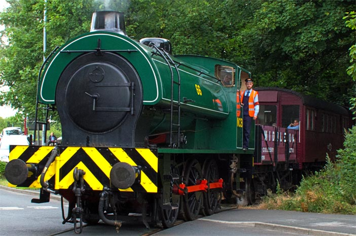 NCB no. 66  a 0-6-0ST  on the 19th July 2015