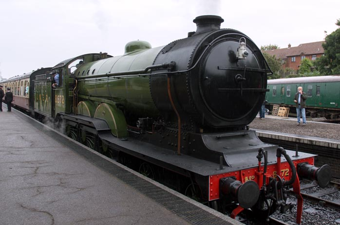 B12 no.8572 in Sheringham station