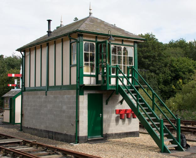 Holt signal box in 2014