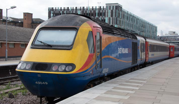 East Midland Trains HST with 43049