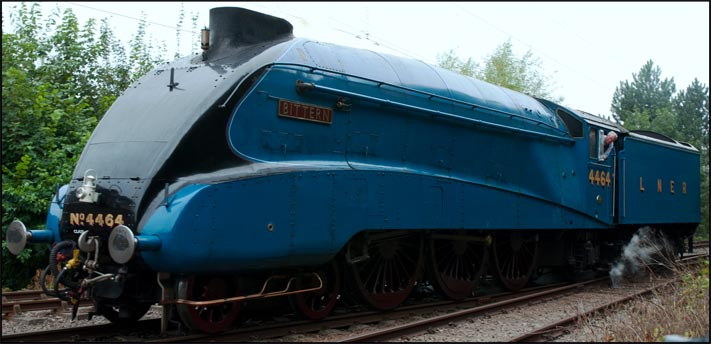 A4 Bittern at the NVR Steam Gala 2012