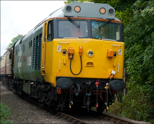 Class 50026 Indomitable at NVR in 2012