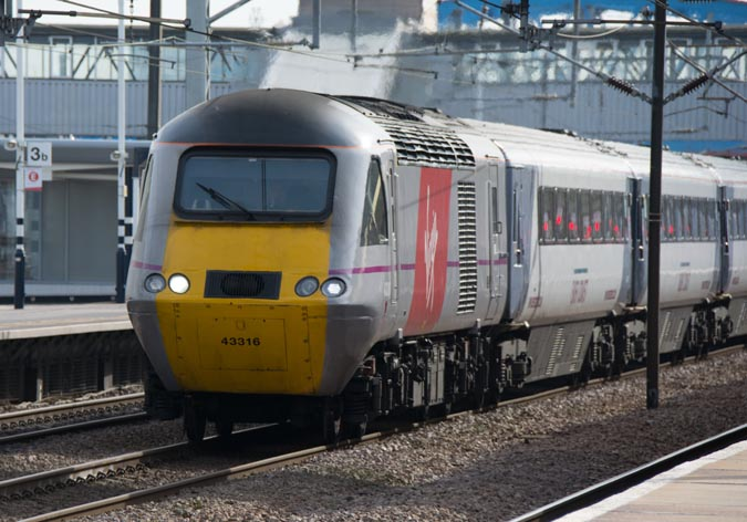 Virgin East Coast HST 43316