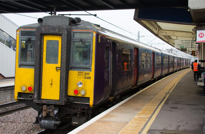 Great Northern class 317 346