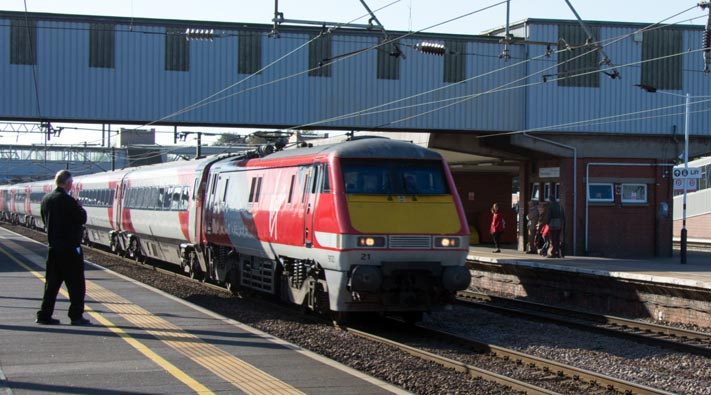 Virgin East Coast class 91121