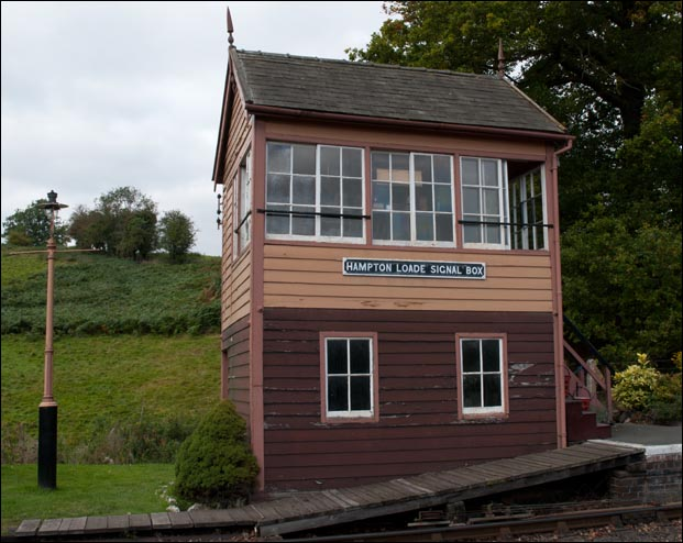Hampton Loade Signal Box