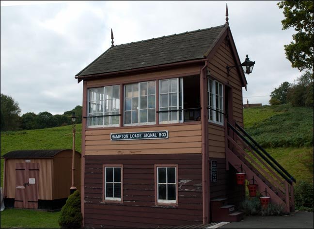 Hampton Loade  Signal Box in 2009