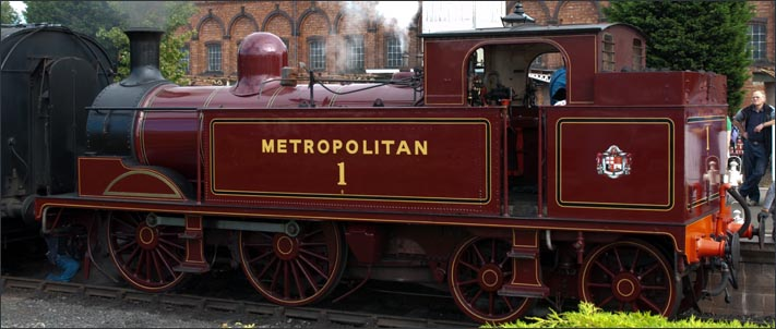 Metropolitan No.1 at the Severn Valley Raiways Kidderminster Town station