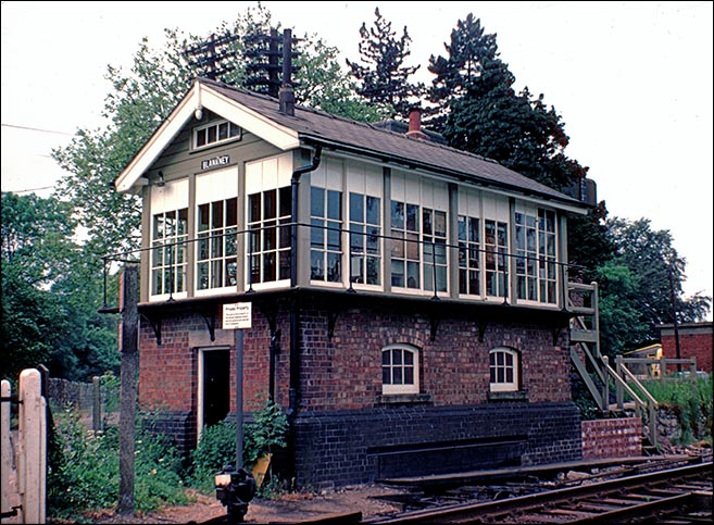 Blankney Signal Box in 1976