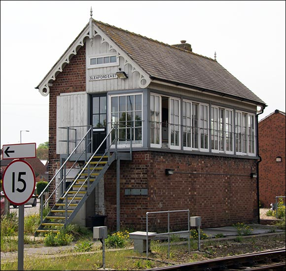 Sleaford East signal box 5th of May 2014