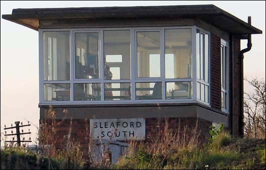 Sleaford South signal box