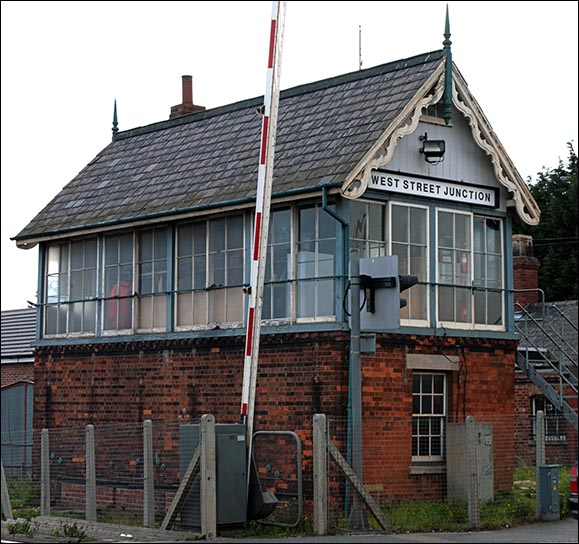 West Street Junction signal box
