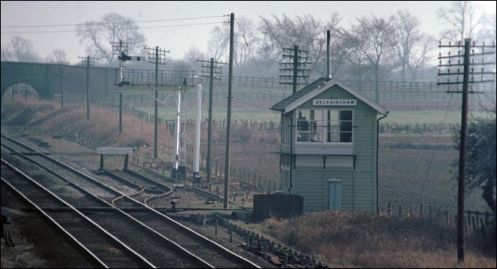 Helpingham signal box