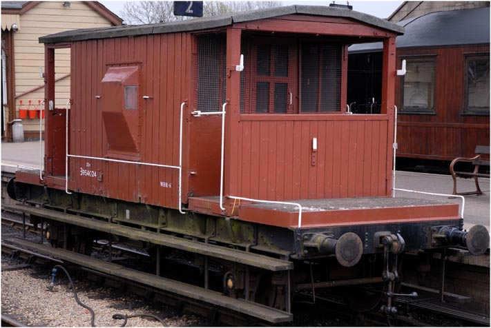 20T  Brake Van B954024 at the Nene Valley