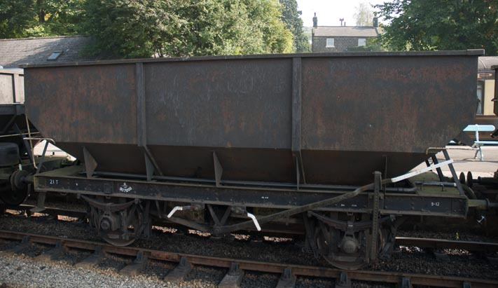 21T steel hopper wagon  E 307005