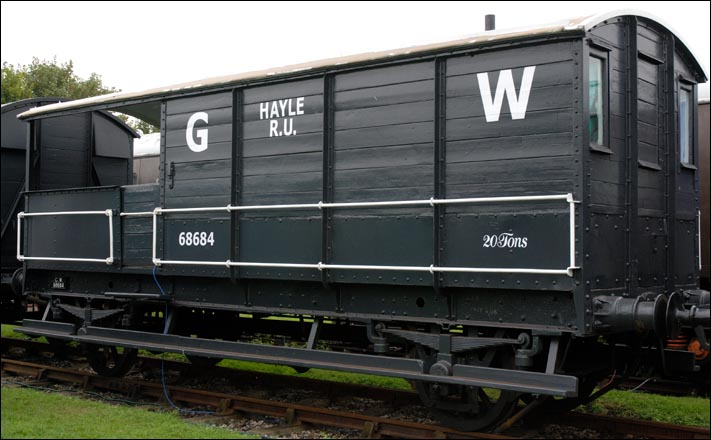 20T Toad brake van is number 68684