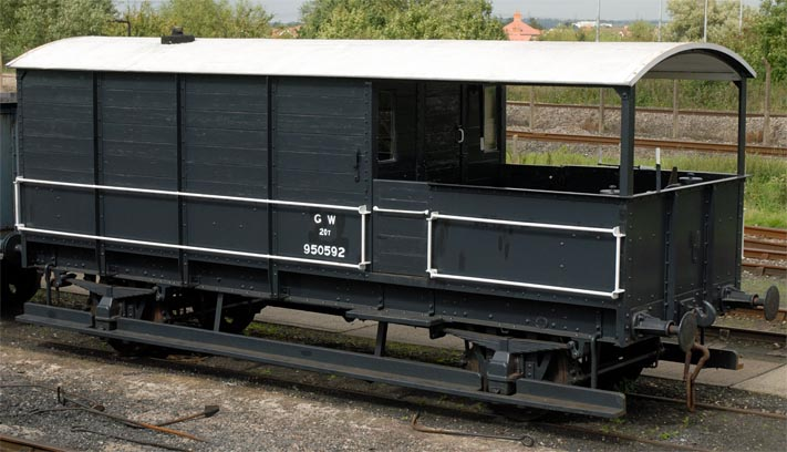 Great Western Railway 20T Toad brake van 950592