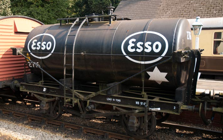 ESSO no2716 tank wagon at NYMR